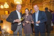 Vinaria Trophy - Palais Niederösterreich - Mi 02.03.2016 - Rainer PARIASEK mit Ehefrau Eva, Herbert PROHASKA1