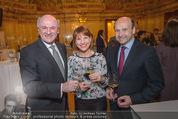 Vinaria Trophy - Palais Niederösterreich - Mi 02.03.2016 - Erwin PR�LL, Kristina SPRENGER, Dominique MEYER38