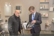 Oswald Oberhuber Ausstellung - 21er Haus - Di 08.03.2016 - Josef OSTERMAYER, Oswald OBERHUBER1