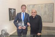 Oswald Oberhuber Ausstellung - 21er Haus - Di 08.03.2016 - Josef OSTERMAYER, Oswald OBERHUBER10