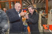 Oswald Oberhuber Ausstellung - 21er Haus - Di 08.03.2016 - Peter NOEVER, Christine K�NIG109