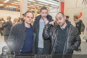 Oswald Oberhuber Ausstellung - 21er Haus - Di 08.03.2016 - Julian KOHL, Raphael und Nikolas OBERHUBER114