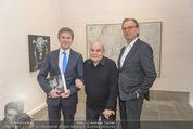 Oswald Oberhuber Ausstellung - 21er Haus - Di 08.03.2016 - Josef OSTERMAYER, Oswald OBERHUBER Alfred WEIDINGER12