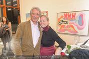 Oswald Oberhuber Ausstellung - 21er Haus - Di 08.03.2016 - Peter und Agnes HUSSLEIN137