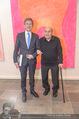 Oswald Oberhuber Ausstellung - 21er Haus - Di 08.03.2016 - Josef OSTERMAYER, Oswald OBERHUBER14