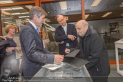 Oswald Oberhuber Ausstellung - 21er Haus - Di 08.03.2016 - Josef OSTERMAYER, Oswald OBERHUBER Alfred WEIDINGER2