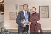 Oswald Oberhuber Ausstellung - 21er Haus - Di 08.03.2016 - Luisa ZIAJA, Josef OSTERMAYER20