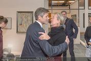 Oswald Oberhuber Ausstellung - 21er Haus - Di 08.03.2016 - Josef OSTERMAYER, Agnes HUSSLEIN21