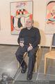 Oswald Oberhuber Ausstellung - 21er Haus - Di 08.03.2016 - Oswald OBERHUBER (Portrait)26
