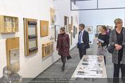 Oswald Oberhuber Ausstellung - 21er Haus - Di 08.03.2016 - Luisa ZIAJA, Josef OSTERMAYER30
