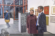 Oswald Oberhuber Ausstellung - 21er Haus - Di 08.03.2016 - Luisa ZIAJA, Josef OSTERMAYER32