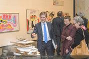 Oswald Oberhuber Ausstellung - 21er Haus - Di 08.03.2016 - Luisa ZIAJA, Josef OSTERMAYER36