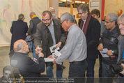 Oswald Oberhuber Ausstellung - 21er Haus - Di 08.03.2016 - Oswald OBERHUBER schreibt Autogramme40