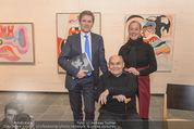Oswald Oberhuber Ausstellung - 21er Haus - Di 08.03.2016 - Oswald OBERHUBER, Josef OSTERMAYER, Agnes HUSSLEIN45
