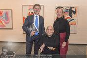 Oswald Oberhuber Ausstellung - 21er Haus - Di 08.03.2016 - Oswald OBERHUBER, Josef OSTERMAYER, Agnes HUSSLEIN46