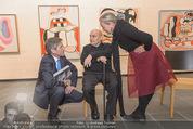 Oswald Oberhuber Ausstellung - 21er Haus - Di 08.03.2016 - Oswald OBERHUBER, Josef OSTERMAYER, Agnes HUSSLEIN47