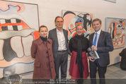 Oswald Oberhuber Ausstellung - 21er Haus - Di 08.03.2016 - Luisa ZIAJA, Alfred WEIDINGER, Agnes HUSSLEIN, Josef OSTERMAYER51