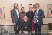 Oswald Oberhuber Ausstellung - 21er Haus - Di 08.03.2016 - L ZIAJA, A WEIDINGER, A HUSSLEIN, J OSTERMAYER, O OBERHUBER53