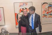 Oswald Oberhuber Ausstellung - 21er Haus - Di 08.03.2016 - Agnes HUSSLEIN, Josef OSTERMAYER54