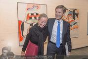 Oswald Oberhuber Ausstellung - 21er Haus - Di 08.03.2016 - Agnes HUSSLEIN, Josef OSTERMAYER56