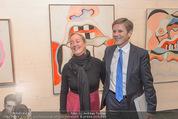 Oswald Oberhuber Ausstellung - 21er Haus - Di 08.03.2016 - Agnes HUSSLEIN, Josef OSTERMAYER57