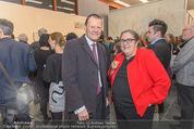 Oswald Oberhuber Ausstellung - 21er Haus - Di 08.03.2016 - Martin B�HM, Eva BLIMLINGER59