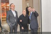 Oswald Oberhuber Ausstellung - 21er Haus - Di 08.03.2016 - Josef OSTERMAYER, Oswald OBERHUBER Alfred WEIDINGER6