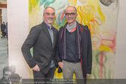 Oswald Oberhuber Ausstellung - 21er Haus - Di 08.03.2016 - Hans KUPPELWIESER, Matthias HERMANN62