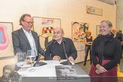 Oswald Oberhuber Ausstellung - 21er Haus - Di 08.03.2016 - Oswald OBERHUBER, Alfred WEIDINGER, Agnes HUSSLEIN71
