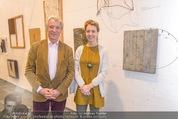 Oswald Oberhuber Ausstellung - 21er Haus - Di 08.03.2016 - Peter HUSSLEIN mit Tochter Katharina78