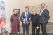 Oswald Oberhuber Ausstellung - 21er Haus - Di 08.03.2016 - Luisa ZIAJA, Josef OSTERMAYER, Oswald OBERHUBER Alfred WEIDINGER8