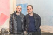Oswald Oberhuber Ausstellung - 21er Haus - Di 08.03.2016 - Raphael und Nikolas OBERHUBER84