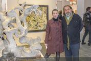Oswald Oberhuber Ausstellung - 21er Haus - Di 08.03.2016 - Luisa ZIAJA, Georg KARGL91