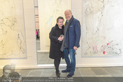 Oswald Oberhuber Ausstellung - 21er Haus - Di 08.03.2016 - Christine K�NIG, Roberto LHOTKA96