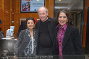 Lotte Tobisch Film - Novomatic Forum - Do 10.03.2016 - Robert DORNHELM, Timna und Naomi BRAUER33