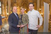 Falstaff Restaurantguide - Rathaus - Mi 16.03.2016 - Birgit und Heinz REITBAUER, Wolfgang ROSAM1
