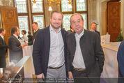 Falstaff Restaurantguide - Rathaus - Mi 16.03.2016 - Andreas D�LLERER, Heinz REITBAUER sen12
