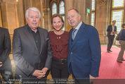 Falstaff Restaurantguide - Rathaus - Mi 16.03.2016 - Peter WECK, Kristina SPRENGER, Karl F�RNKRANZ17