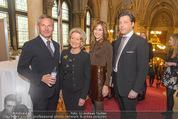 Falstaff Restaurantguide - Rathaus - Mi 16.03.2016 - Alfred HUDLER, Elisabeth G�RTLER, Matthias WINKLER, A. ROSAM24