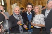 Falstaff Restaurantguide - Rathaus - Mi 16.03.2016 - Marika LICHTER mit Sohn Paul, Elisabeth KAMPER29