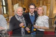 Falstaff Restaurantguide - Rathaus - Mi 16.03.2016 - Marika LICHTER mit Sohn Paul, Elisabeth KAMPER30