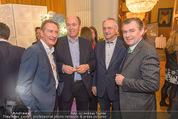Falstaff Restaurantguide - Rathaus - Mi 16.03.2016 - Alfred HUDLER, Sigi Mentz, Karl KOLARIK, Toni M�RWALD36
