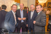Falstaff Restaurantguide - Rathaus - Mi 16.03.2016 - Alfred HUDLER, Sigi Mentz, Karl KOLARIK, Toni M�RWALD37