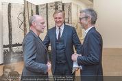 Ausstellungseröffnung - Albertina - Do 17.03.2016 - Anselm KIEFER, Josef OSTERMAYER, Klaus Albrecht SCHR�DER2
