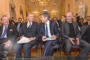 Ausstellungseröffnung - Albertina - Do 17.03.2016 - Herbert BATLINER, Klaus Albrecht SCHR�DER, Josef OSTERMAYER41