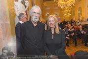 Ausstellungseröffnung - Albertina - Do 17.03.2016 - Michael HANEKE mit Ehefrau Susi72