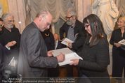 Ausstellungseröffnung - Albertina - Do 17.03.2016 - Anselm KIEFER schreibt Autogramme84