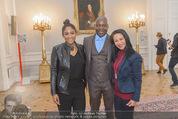 Marcel Hirscher Ehrenzeichen - Bundeskanzleramt - Mi 23.03.2016 - Familie Rose May ALABA mit Eltern George und Gina ALABA1