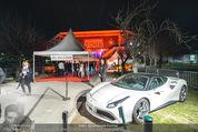 Opening - Hallmann Dome - Do 31.03.2016 - Eingangsbereich mit Sportwagen10