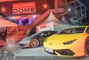 Opening - Hallmann Dome - Do 31.03.2016 - Eingangsbereich mit Sportwagen13